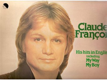 Claude Francois – His Hits in English – Vinyl LP