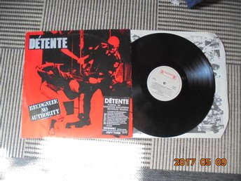 Détente - Recognize No Authority, LP 1986 Holland Roadrunner Records Trash Metal