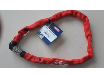 ABUS Web Chain Combination Lock 1200 /60 cm / Cykellås Kombinationslås/ RED