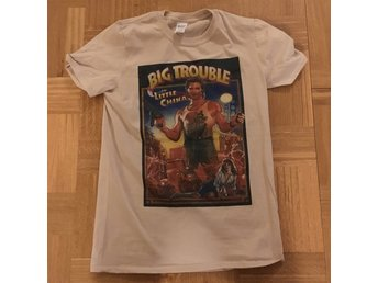 T shirt Big trouble in Little china small ny (Kurt Russell)