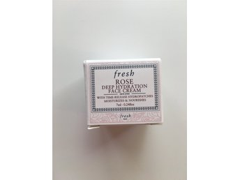 Fresh Rose Deep Hydration Face cream - resestorlek 7 ml