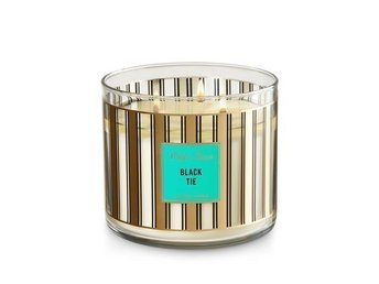 Bath & Body Works 3veks ljus doftljus Black Tie