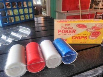 Vintage USA Poker Chips