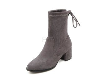 Dam Boots Women Shoes Women Motorcycle Boots Gray 42