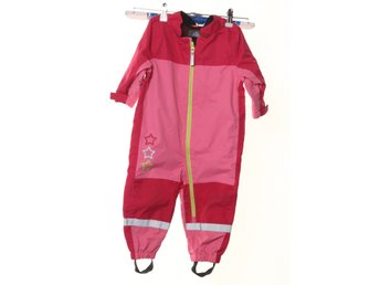 Rain Wear By Lindex, Overall, Strl: 80, Rosa