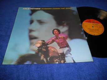 Arlo Guthrie - Running Down The Road LP Ty 69 NM/EX RARE!