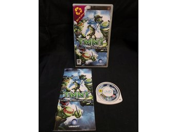 TMNT: Teenage Mutant Ninja Turtles / PSP / Sony / Playstation.