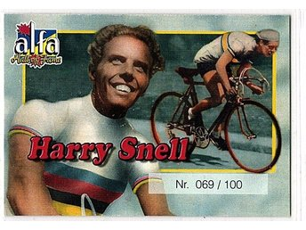 Alfa Hall of Fame Harry Snell 069/100