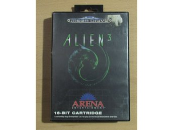 Alien 3 Sega Mega Drive med manual