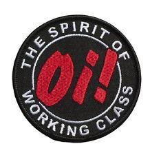 Oi! The Spirit of working class. - Tygmärke oi, punk, skinhead
