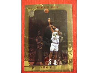 TYRONE HILL - SP AUTHENTIC 1997-98 - MILWAUKEE BUCKS - BASKET