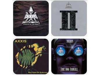 AXXIS COASTERS - Set of 4