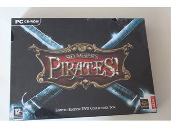 Sid Meier´s Pirates Collectors Box Helt ny!