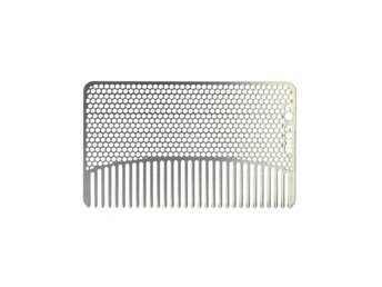 Go Comb Stainless Steel Fine Tooth