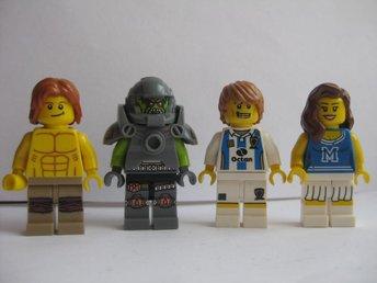 Lego Figurer Figur - 4st blandade Figurer - LF6-19 - Uddevalla - Lego Figurer Figur - 4st blandade Figurer - LF6-19 - Uddevalla