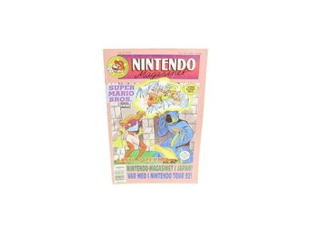 Nintendo Magasinet Nr 3 1992 med Power Play bilaga