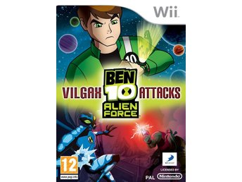 Ben 10: Alien Force - Vilgax Attacks - Nintendo Wii