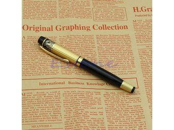 2017 New For Hero 901 Fountain Pen Medium Nib 0.5mm Gold Black