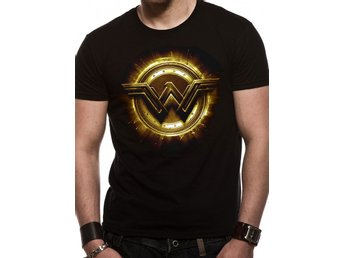 JUSTICE LEAGUE MOVIE - WONDER WOMAN SYMBOL (UNISEX) - Medium
