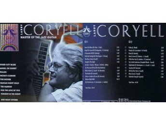 Larry Coryell, Master of the jazz guitar (2CD)