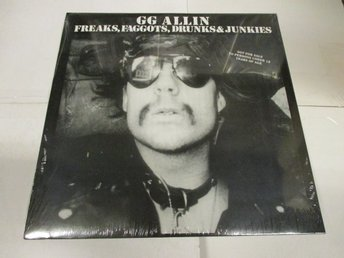 GG Allin (LP) - Freaks, Faggots, Drunks & Junkies - Ospelad!