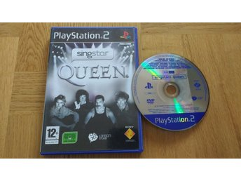PlayStation 2/PS2: Singstar Queen (kräver mikrofoner)