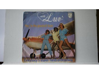 Luv - You´re The Greatest Lover    7""