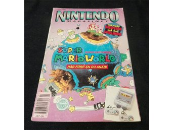 Nintendo Magasinet Nr 4 1992 inkl. Power Player
