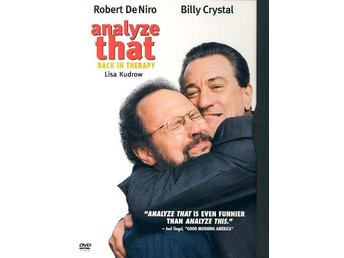 ANALYZE THAT - BACK IN THERAPY (2002) - Robert De Niro, Crystal - DVD - UTGÅTT
