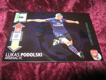 LUKAS PODOLSKI-ARSENAL-LIMITED EDITION-UEFA CHAMPIONS LEAGUE 2012/2013