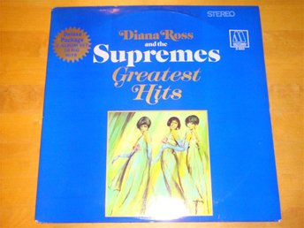 DIANA ROSS AND THE SUPREMES -GREATEST HITS 1967 (UTVIK) DLP