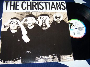 "CHRISTIANS THE - FORGOTTEN TOWN 12"" 1987 UK"