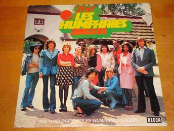 LES HUMPHRIES SINGERS THE WORLD OF LP 1973