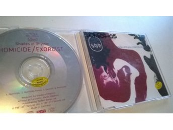 Shades Of Rhythm ‎- Homicide / Exorcist, CD, Single