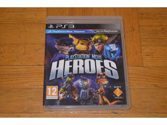 Playstation Move Heroes - Playstation Move Spel - Playstation 3 PS3