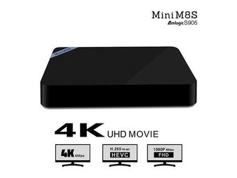 Android TV Box - Mini M8S - Göteborg - Android TV Box - Mini M8S - Göteborg