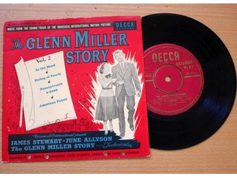 The Glenn Miller Story vol2. In the mood . Decca Records Ep 1956
