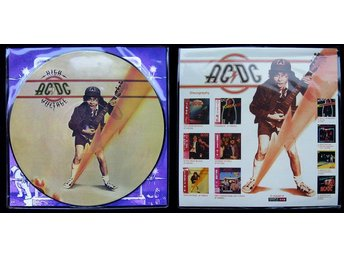 AC/DC 'High Voltage' Japanese picture-disc LP