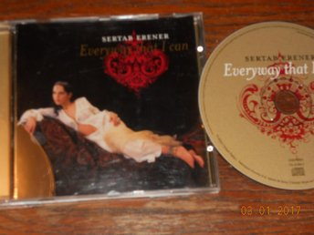 Eurovision 2003 SERTAB ERENER - Everyway that I can, CD Maxi Turkiet Bob Dylan