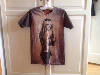 T-shirt Heidi Klum finger up stl M