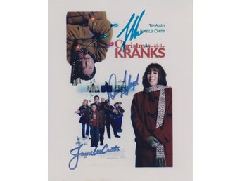 CHRISTMAS WITH THE KRANKS MINI POSTER PRE-PRINT AUTOGRAF FOTO