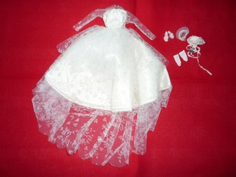 HTF Vintage Barbie Wedding Day Set