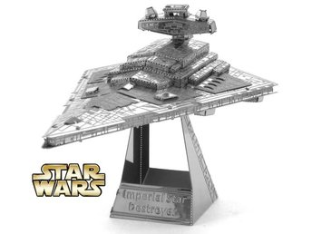 Hobby 3D Metal Pussel Star Wars Imperial Star Destroyer Fri Frakt Helt Nytt