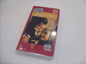 The Cotton Club Engelsk Portugal utgåva VHS PAL Francis Ford Coppola