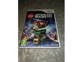 Wii Lego Star Wars 3 The Clone Wars -1kr-