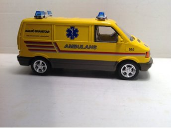 VW Ambulans buss.