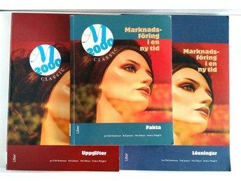 Javascript är inaktiverat. - Västervik - Bokpaket: Marknadsföring i en ny tid M2000 Classic• Faktabok ISBN 978-91-47-08825-6• Uppgifter ISBN 978-91-47-08813-3• Lösningar ISBN 978-91-47-08814-0Säljes i begagnat skick. Lite mindre slitningar på utsidan av böckerna finns. Me - Västervik