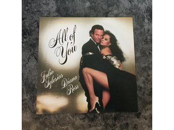 "JULIO IGLESIAS & DIANA ROSS - ALL OF YOU. (NEAR MINT 7"")"