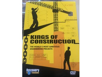 Kings of Construction - 8 DVD - Discovery Channel