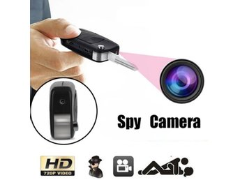 Mini Car Key DVR Motion Detection Cam...
